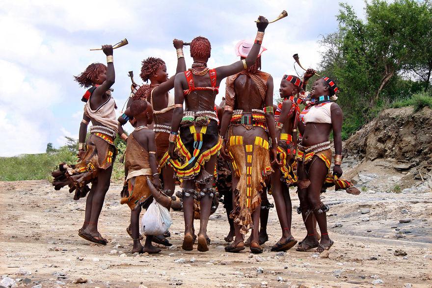Dans ritüeli, Etiopya