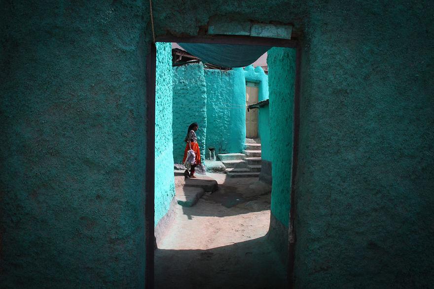 Harar'ın maviliğinde, Etiopya
