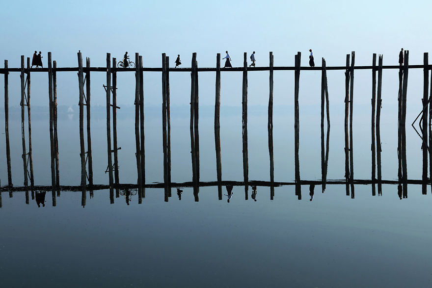 U Bein Köprüsü, Myanmar