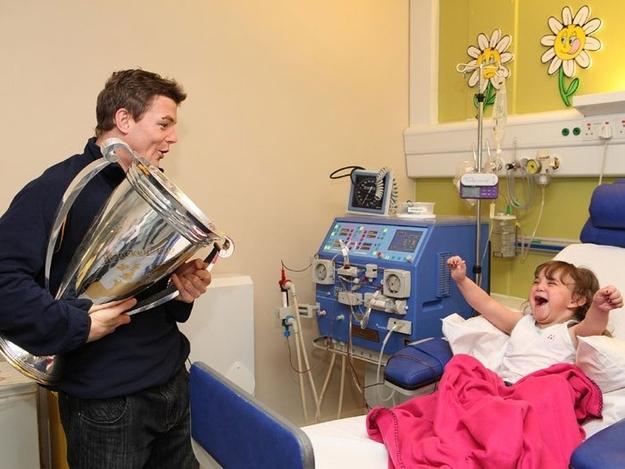 Rugby oyuncusu Brian O'Driscoll