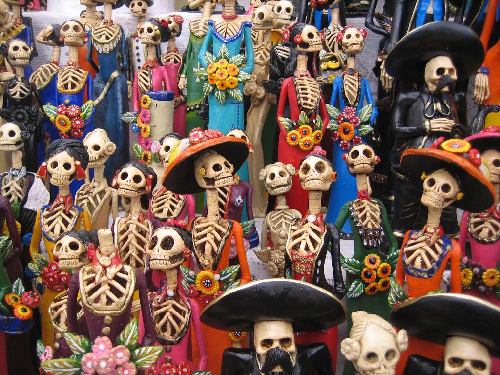 Meksika ölüler günü