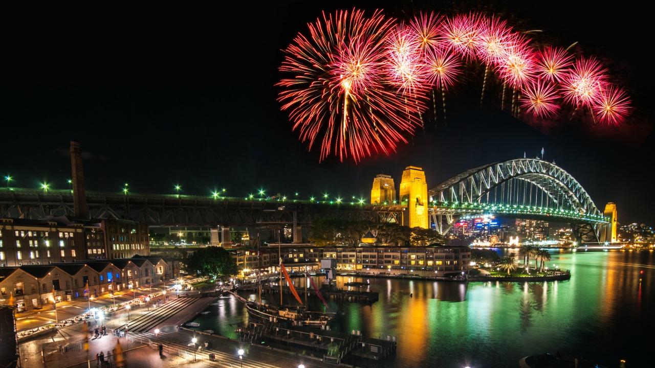 Sidney yeni yıl kutlaması