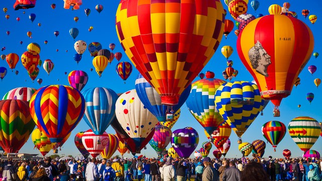 Albuquerque uluslararası balon festivali