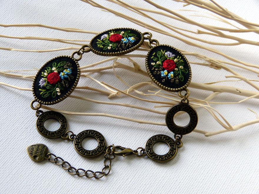Marta Krajewska el işi takı tasarımları