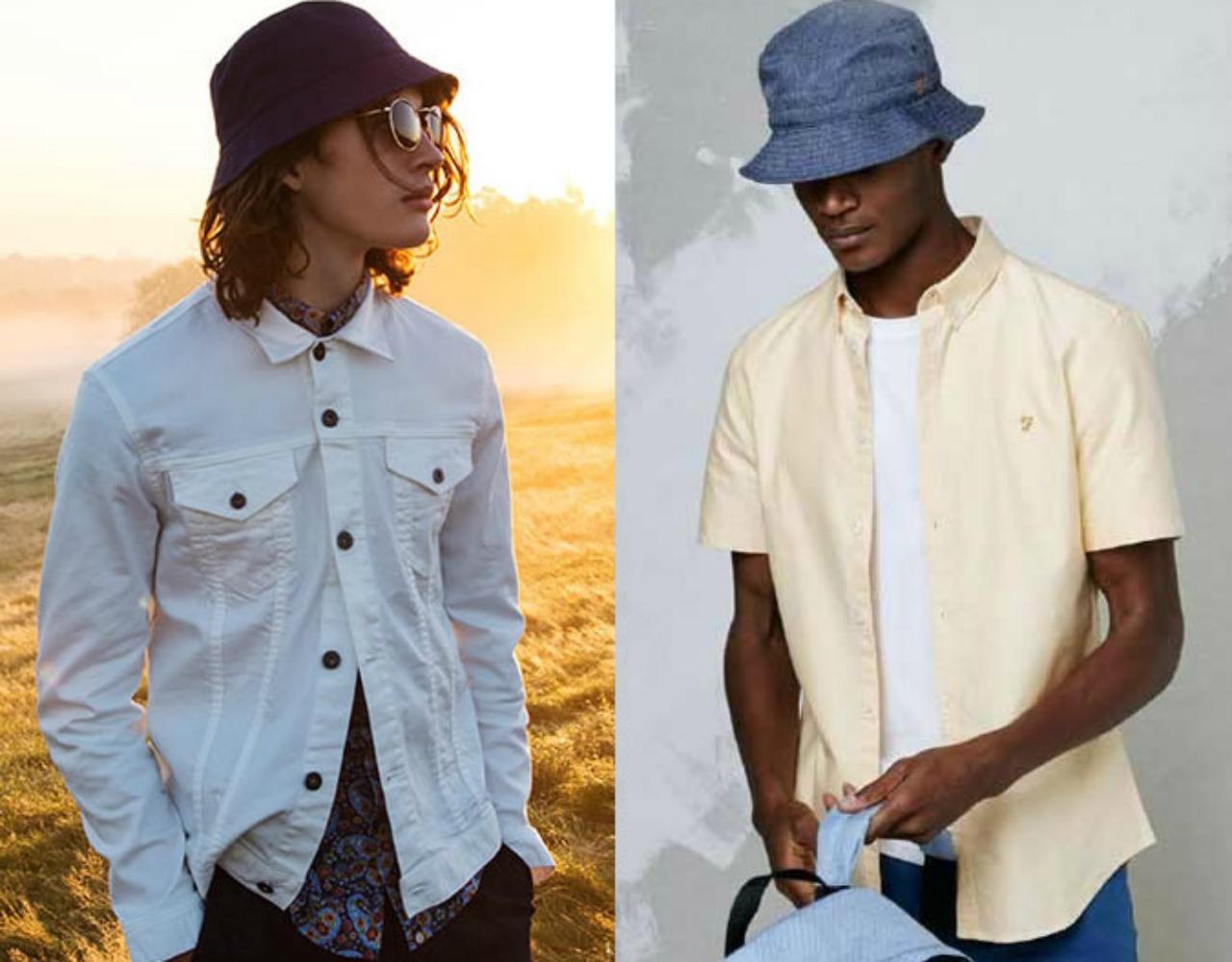 Şapka modası erkek