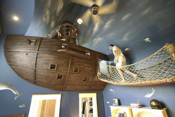 ev dekorasyonu gemi