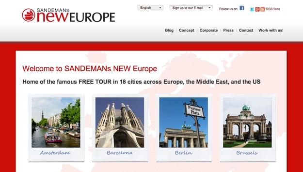 Sandeman's New Europe
