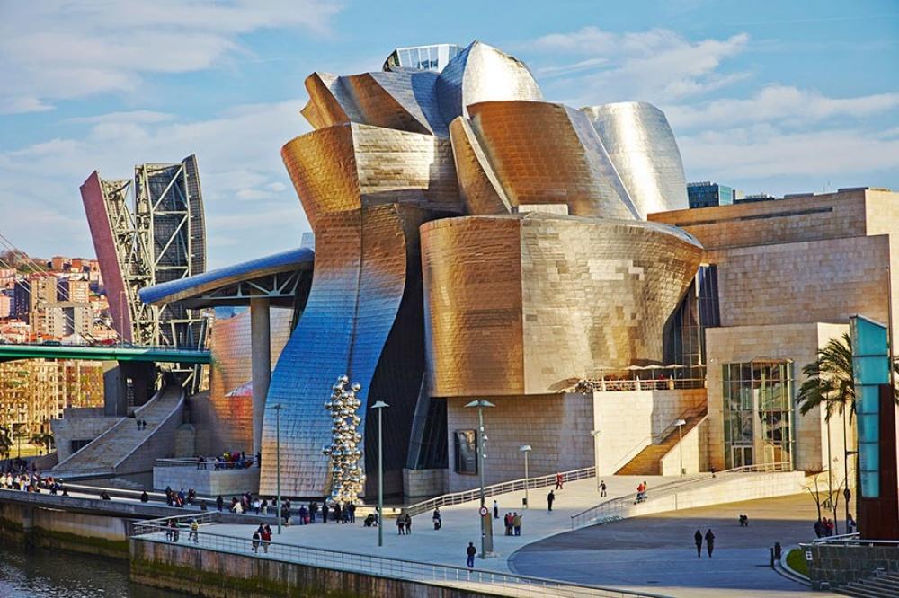 The Guggenheim Museum, Bilbao, İspanya