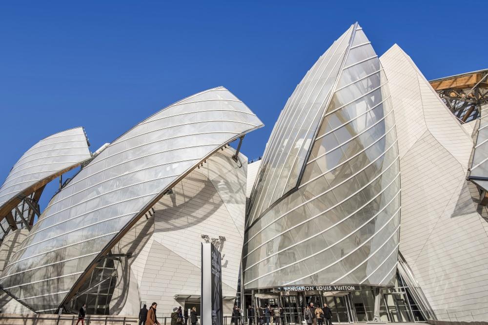 The Louis Vuitton Foundation Building, Paris