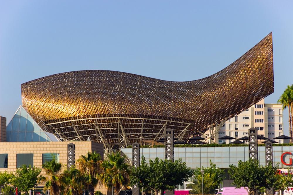 The Olympic Fish Pavilion, Barcelona