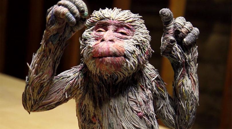 Chie Hitotsuyama hayvan heykeli