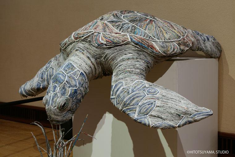 hayvan heykelleri kaplumbağa