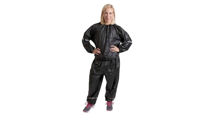 eski fitness trendleri sauna suit