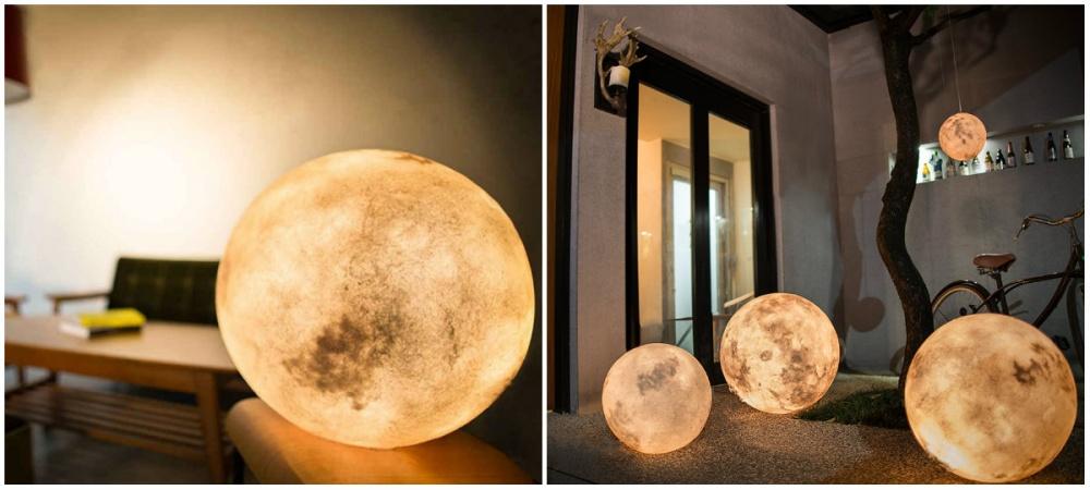 ay şeklinde lamba
