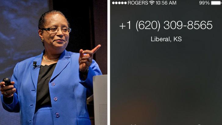 Dr. Shirley Ann Jackson - Arayanın kimliği