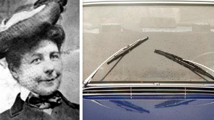 Mary Anderson -  Araba sileceği