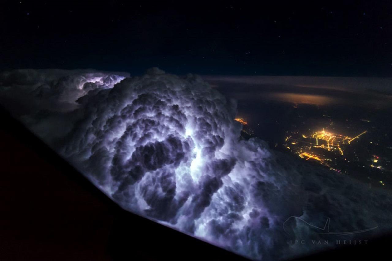 gokyuzu gece fotograf