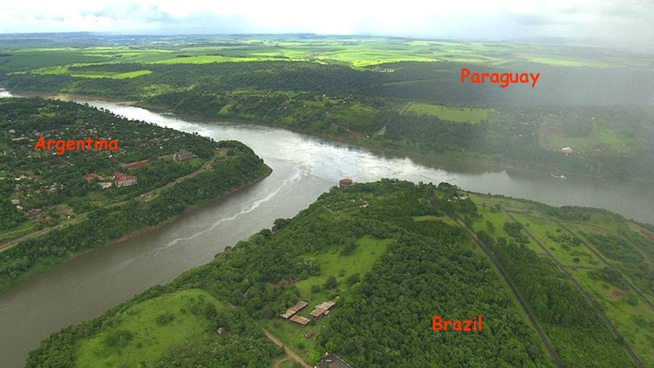 arjantin brezilya paraguay sınır