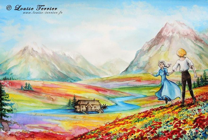 Louise Terrier sanat
