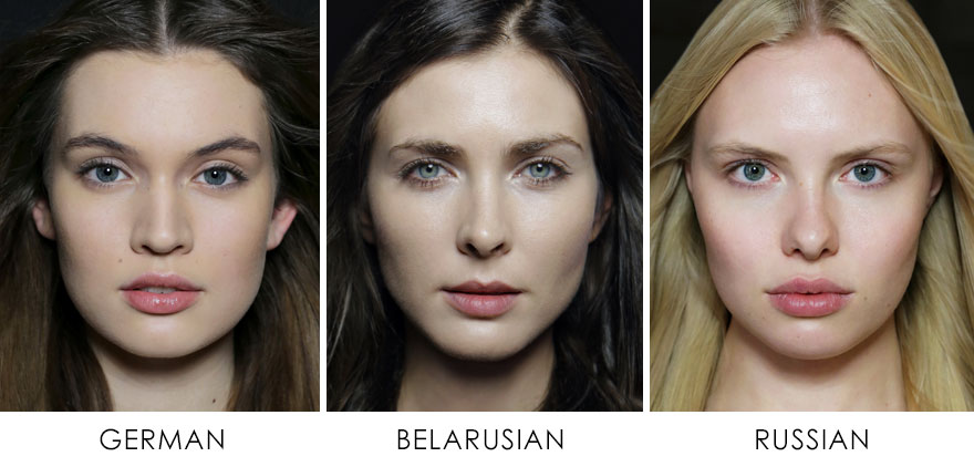 Natalia Ivanova kadınların güzelliği