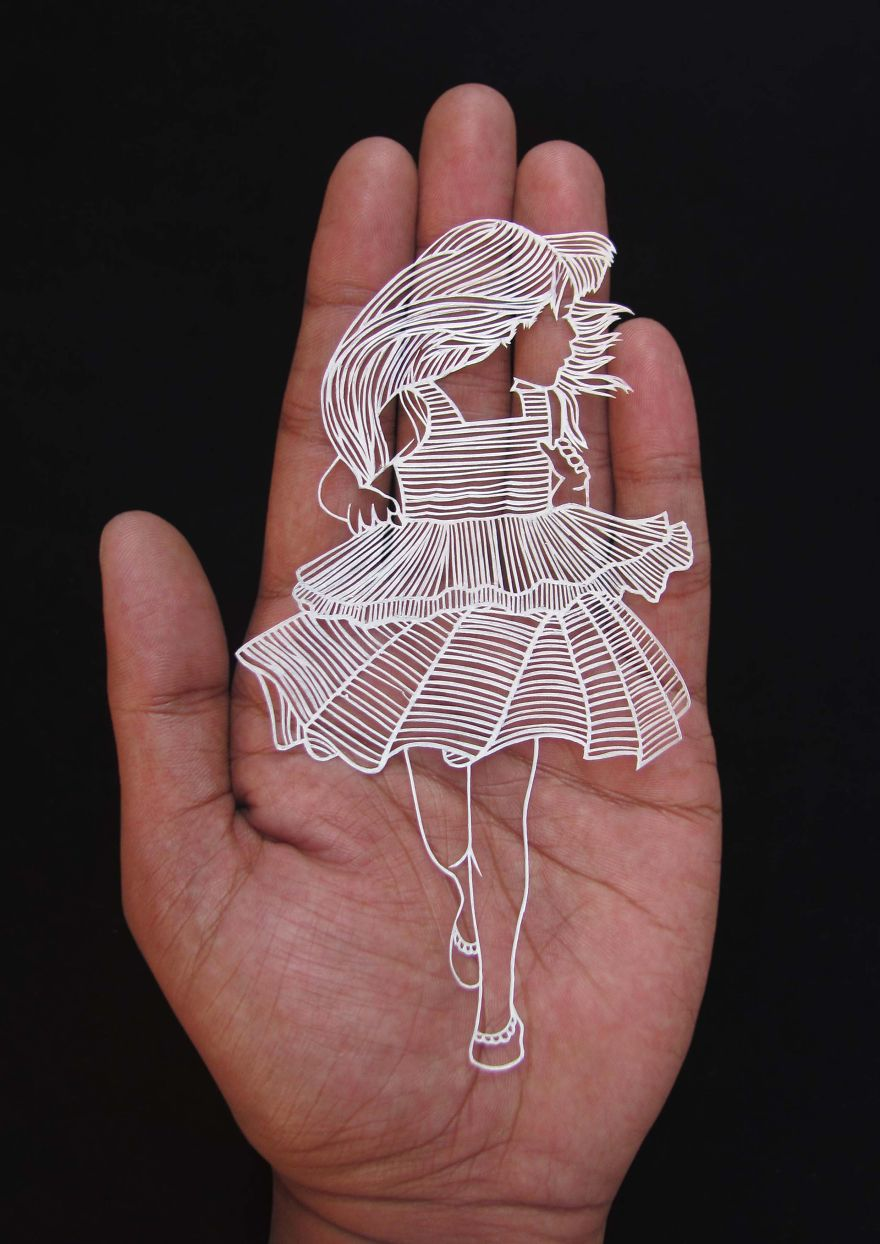kağıt heykel