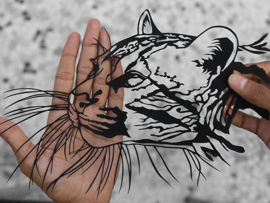 kağıt kedi