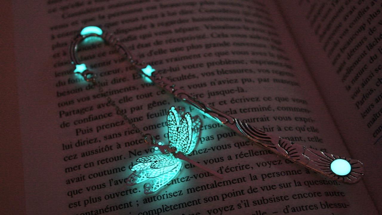 Manon Richard turkuvaz renkli kitap ayraçları
