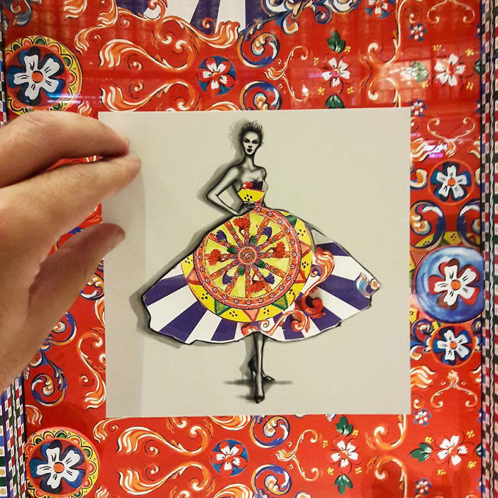 Shamekh Bluwi moda çizimleri