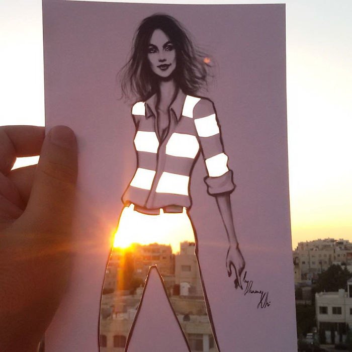 Shamekh Bluwi model çizim örnekleri