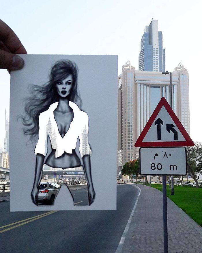 Shamekh Bluwi illüstrasyon örnekleri