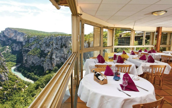 france grand canyon du verdon restoran