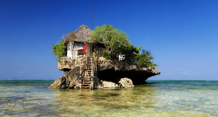 tanzania the rock restoran zanzibar