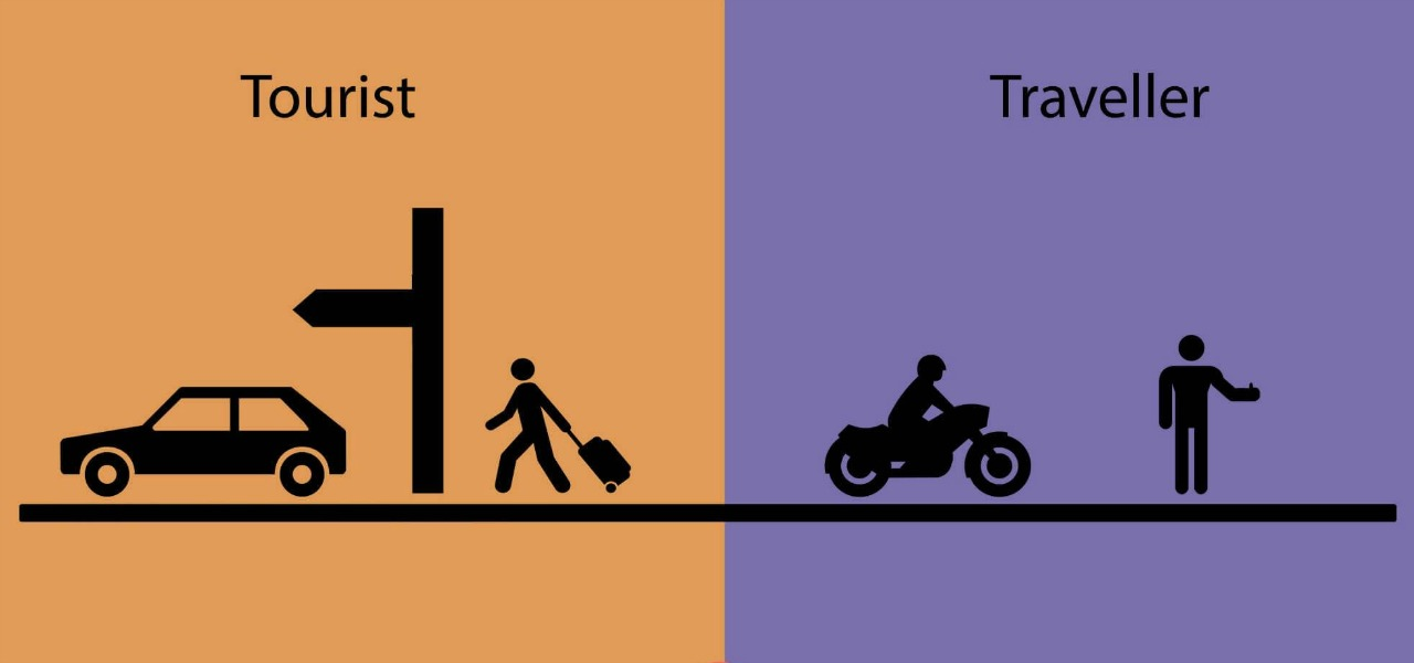 tourist vs traveller