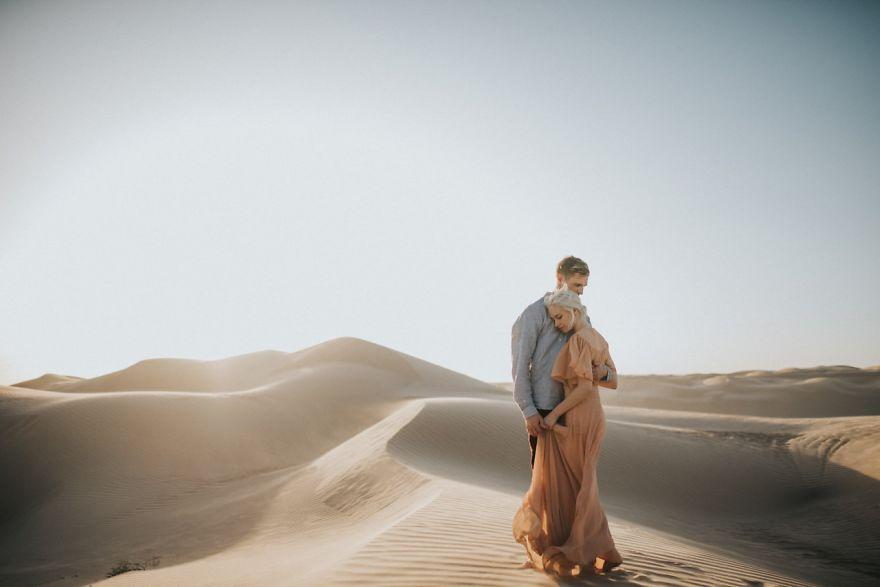 Imperial Sand Dunes, Brawley, Kaliforniya, ABD