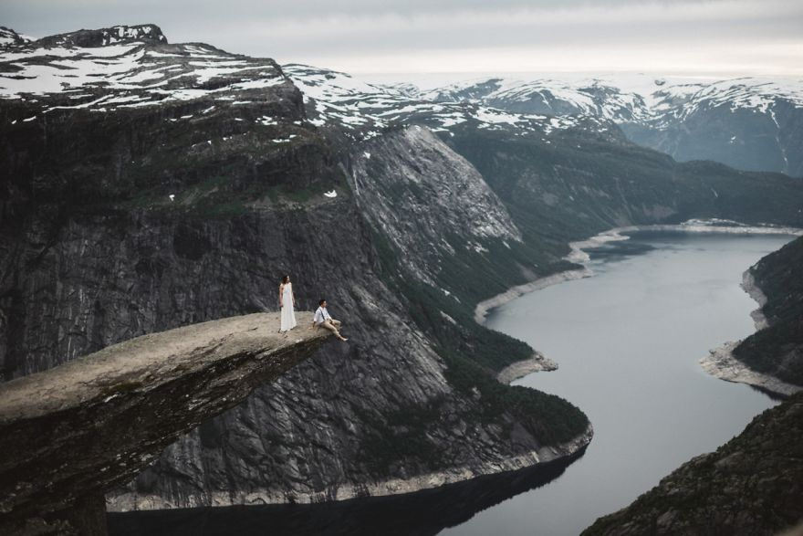 Trolltunga, Norveç