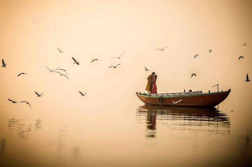 Varanasi, Hindistan