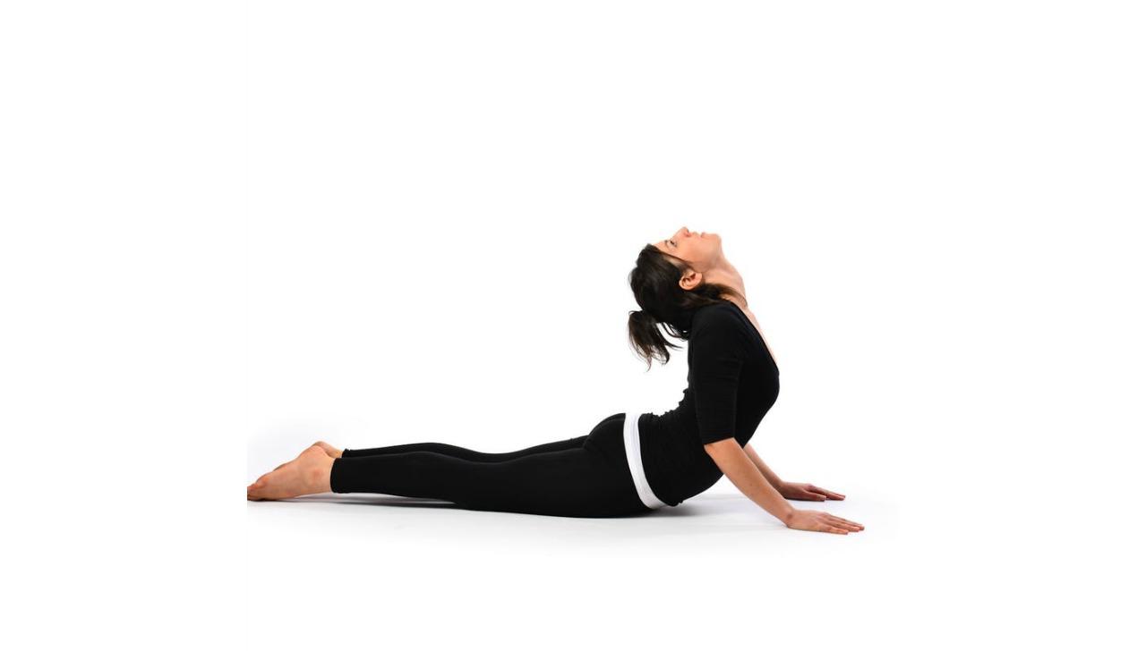 yatakta yapabileceginiz egzersizler cobra pose galer