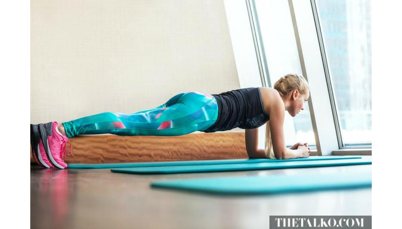 yatakta yapabileceginiz egzersizler plank galeri