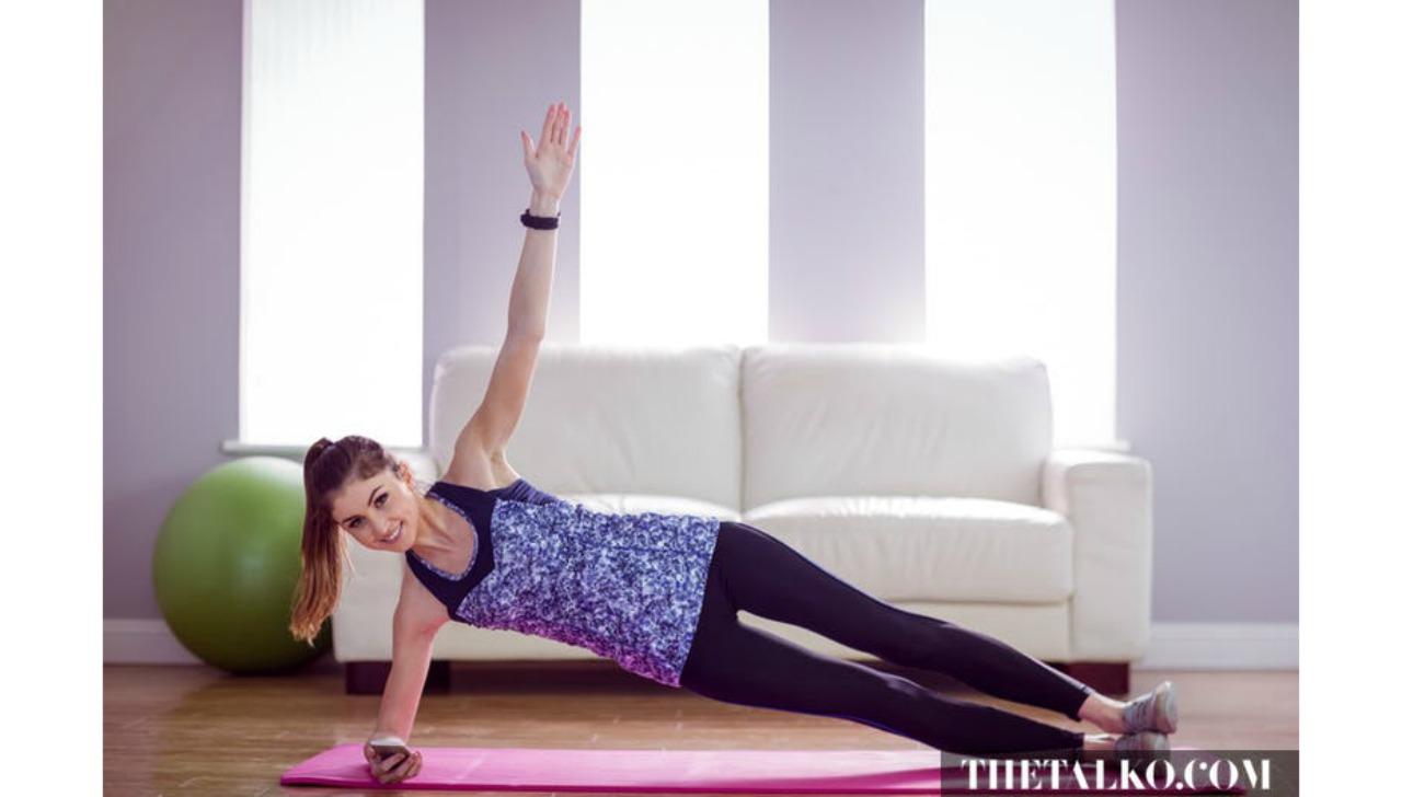 yatakta yapabileceginiz egzersizler side plank galeri