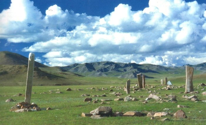 the deer stones mongolia