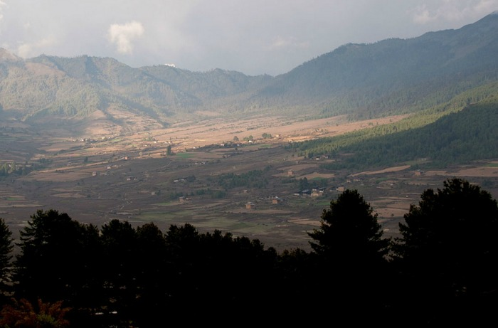 the phobjikha valley in bhutan