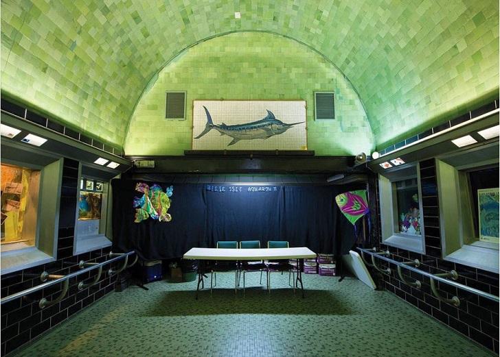 belle isle aquarium detroit michigan c