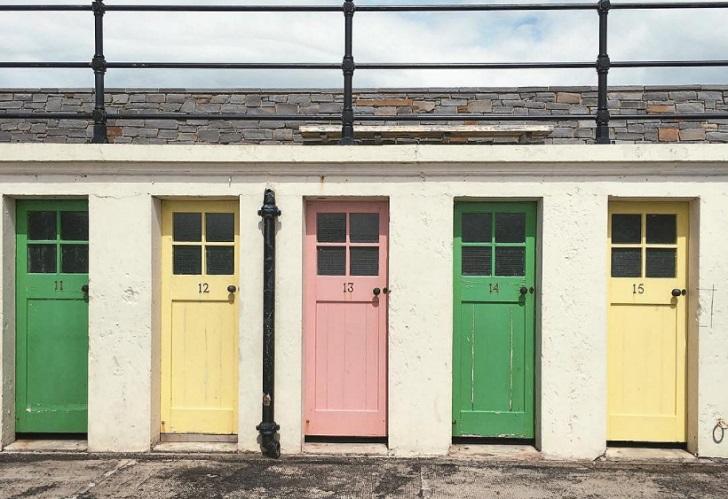 changing stalls north berwick scotland c