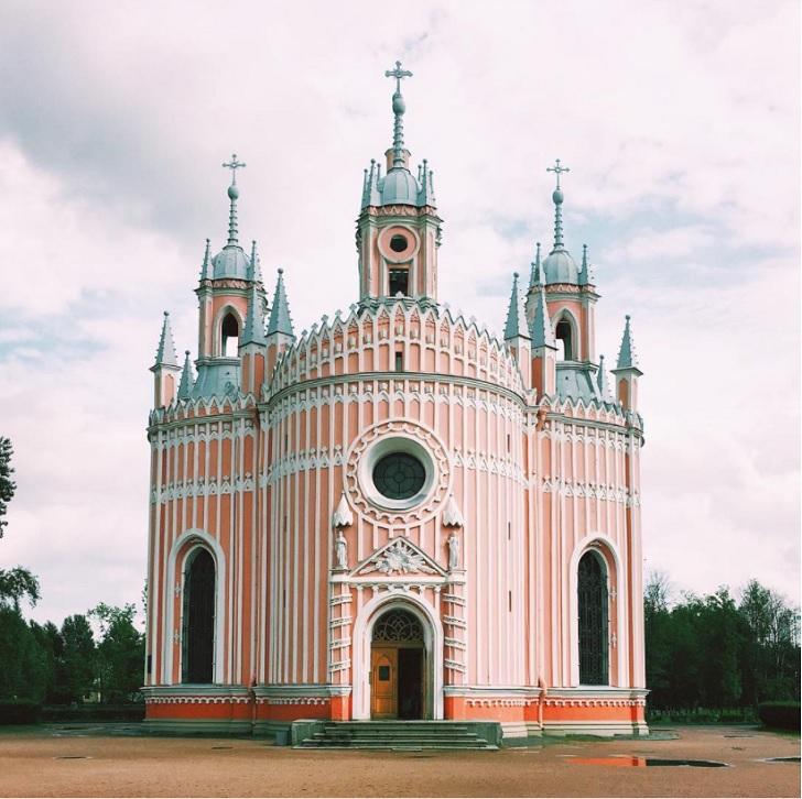 chesme church saint petersburg russia c
