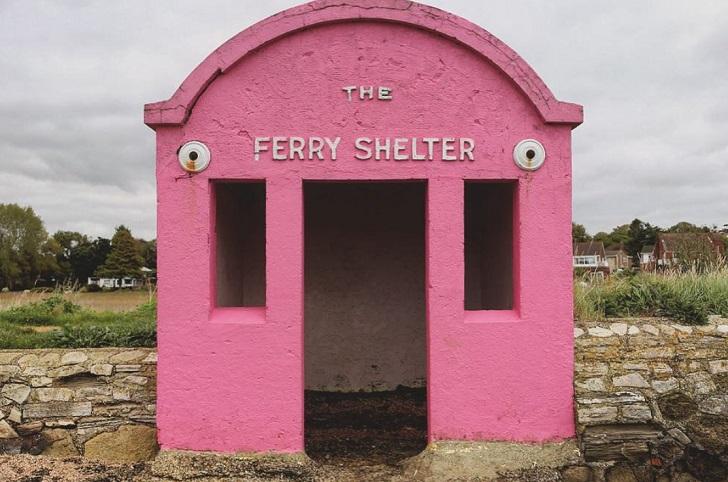 ferry shelter warsash england c