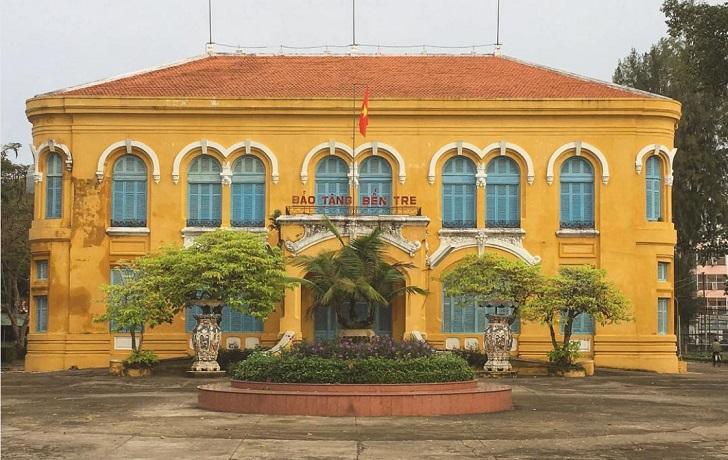 revolutionary museum ben tre vietnam c