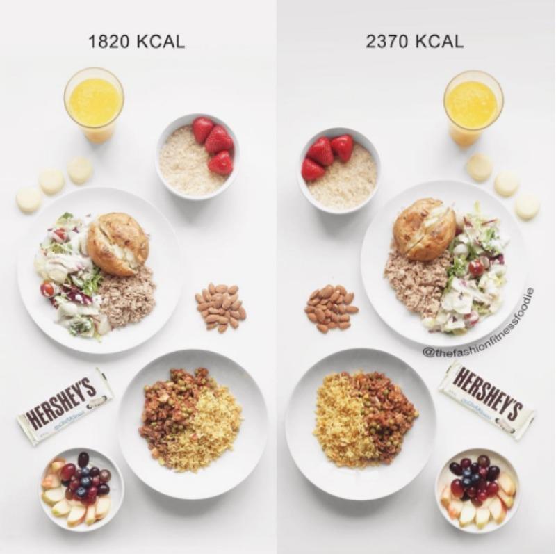 saglikli beslenme kalori hesabi hersheys
