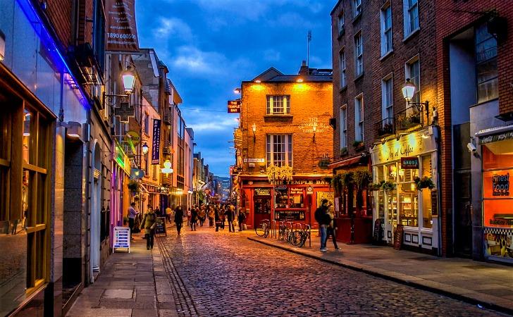 kulturel sehirler dublin irlanda