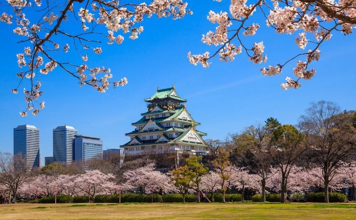 kulturel sehirler osaka japonya