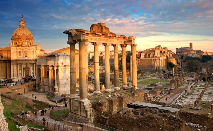kulturel sehirler roma italya